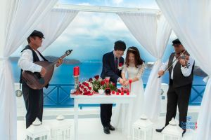 Best Of Jin  Huanqians Wedding By Santorini8 Weddings9   Dragons Group 10