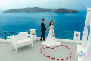 Best Of Jin  Huanqians Wedding By Santorini8 Weddings9   Dragons Group 11