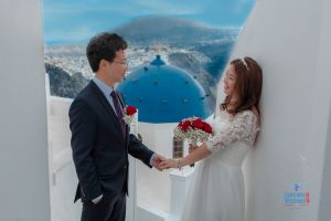 Best Of Jin  Huanqians Wedding By Santorini8 Weddings9   Dragons Group 13