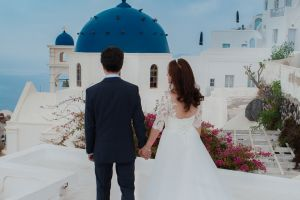 Best Of Jin  Huanqians Wedding By Santorini8 Weddings9   Dragons Group 14