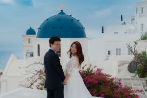 Best Of Jin  Huanqians Wedding By Santorini8 Weddings9   Dragons Group 15