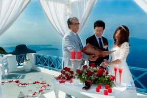 Best Of Jin  Huanqians Wedding By Santorini8 Weddings9   Dragons Group 3