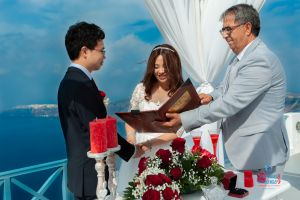 Best Of Jin  Huanqians Wedding By Santorini8 Weddings9   Dragons Group 4