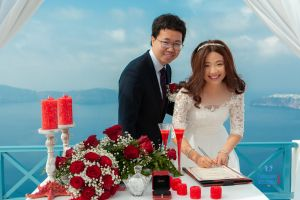 Best Of Jin  Huanqians Wedding By Santorini8 Weddings9   Dragons Group 5