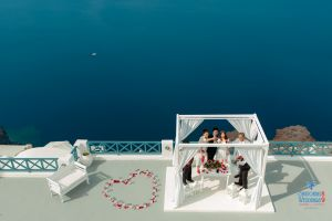 Best Of Jin  Huanqians Wedding By Santorini8 Weddings9   Dragons Group 8
