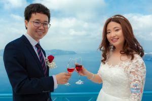 Best Of Jin  Huanqians Wedding By Santorini8 Weddings9   Dragons Group 9