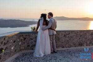Jason  Lisa   Unique Wedding Pictures By Santorini8 Weddings9 Dragons Group 16