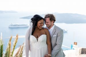 Jason  Lisa   Unique Wedding Pictures By Santorini8 Weddings9 Dragons Group 32