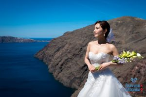 Mr  Mrs Kojo Photo Shooting By Santorini8 Weddings9 Dragons Group 12