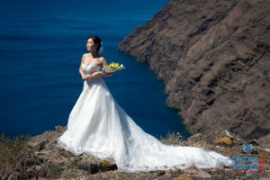 Mr  Mrs Kojo Photo Shooting By Santorini8 Weddings9 Dragons Group 13