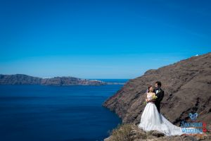 Mr  Mrs Kojo Photo Shooting By Santorini8 Weddings9 Dragons Group 15