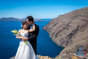 Mr  Mrs Kojo Photo Shooting By Santorini8 Weddings9 Dragons Group 16